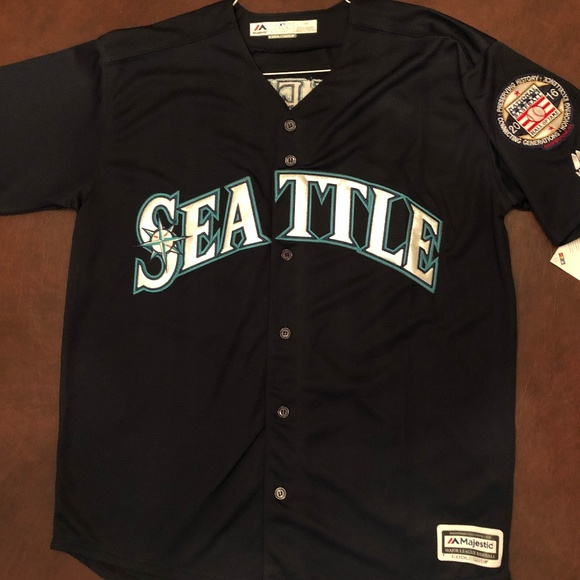 new product 035fa 9f0b4 🆕**NEW SEATTLE MARINERS JERSEY NWT